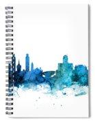 Lincoln Nebraska Skyline Spiral Notebook