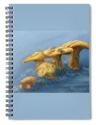 Five Little Mushrooms Spiral Notebook