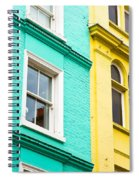 London Houses Spiral Notebook