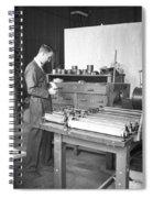 Luis Alvarez, American Physicist Spiral Notebook