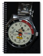 Mickey Mouse Watch Spiral Notebook