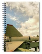 Military Weapons, Ballistic, Anti-aircraft, Medium-range Missile 6 Spiral Notebook
