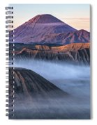 Mount Bromo - Java Spiral Notebook