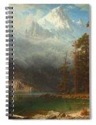 Mount Corcoran Spiral Notebook