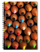 Multicolored Pencils  Spiral Notebook