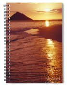 Oahu, Lanikai Beach Spiral Notebook