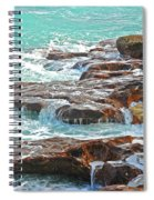 5- Ocean Reef Shoreline Spiral Notebook