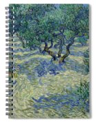 Olive Orchard Spiral Notebook