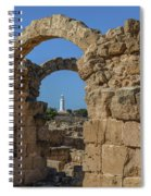 Paphos Archaeological Park - Cyprus Spiral Notebook