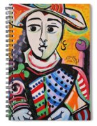 Picasso By Nora Spiral Notebook