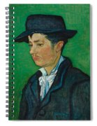Portrait Of Armand Roulin Spiral Notebook