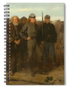 Prisoners From The Front Spiral Notebook