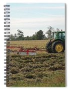 Raking Hay Spiral Notebook
