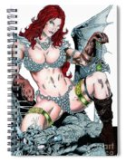Red Sonja Spiral Notebook