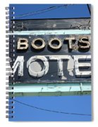Route 66 - Boots Motel Spiral Notebook