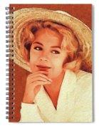 Sandra Dee, Vintage Actress Spiral Notebook