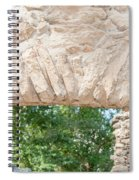 Spanish Chapel At Oxtankah Spiral Notebook