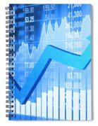 Stock Market Concept Spiral Notebook