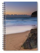 Sunrise By The Sea Spiral Notebook