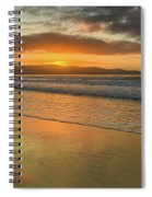 Sunrise Seascape At The Beach Spiral Notebook