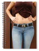 The G M Belt Spiral Notebook