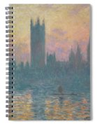 The Houses Of Parliament Spiral Notebook