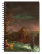 The Voyage Of Life, Manhood Spiral Notebook