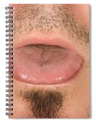 Tongue Spiral Notebook