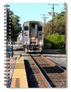 Ventura Train Station Spiral Notebook