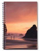 View Of Oregon Spiral Notebook