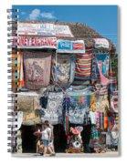 Village Of Coba Spiral Notebook