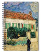 White House At Night Spiral Notebook