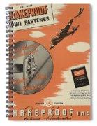 World War II Advertisement Spiral Notebook