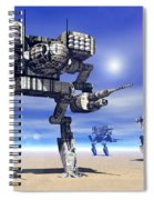 501st Mech Trinary Spiral Notebook