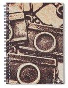 50s Brownie Cameras Spiral Notebook