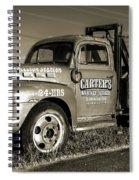 50's Wrecker Truck Spiral Notebook