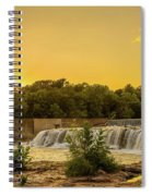 Grand Falls Waterfall Spiral Notebook