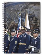 54th Regiment Bos2015_183 Spiral Notebook