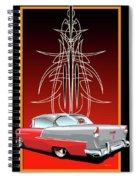 55 Chevy Pinstriping Spiral Notebook
