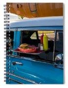 56 Chevy Spiral Notebook