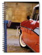 57 Chevy At The Drive-in Spiral Notebook