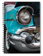 57 Chevy Spiral Notebook
