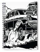 '57 Gasser Cartoon Spiral Notebook