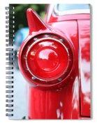 '57 Tail Light Spiral Notebook