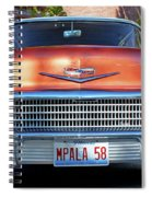 '58 Chevy Comin' Atcha Spiral Notebook