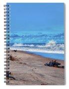 58- Sapphire Surf Spiral Notebook