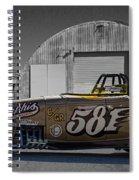 581 Bonneville Race Car Spiral Notebook