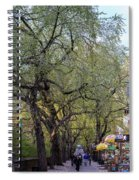 5th Avenue  Spiral Notebook