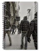 5th Avenue Walk Spiral Notebook