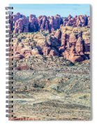 Arches National Park  Moab  Utah  Usa Spiral Notebook